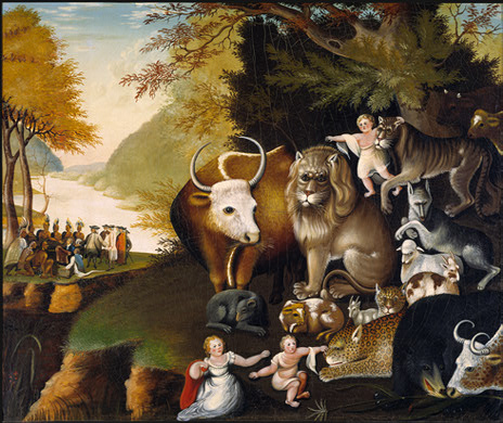 Peaceable Kingdom (1834) - Edward Hicks