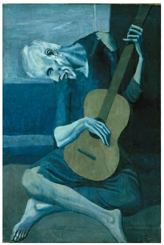 The Old Guitarist (1903) - Pablo Picasso